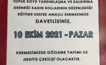 TOPUK-DER KADIN KOLLARI KERMESİ